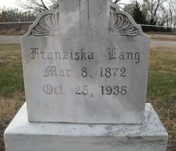 Franziska <I>Eigner</I> Lang