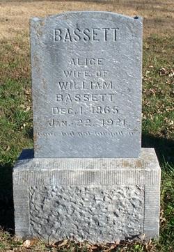 Alice <I>Bisbee</I> Bassett
