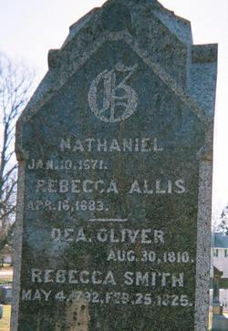 Rebecca <I>Allis</I> Graves