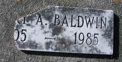 Mary A. Baldwin