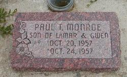 Paul Tuttle Monroe
