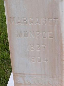 Margaret Ann <I>Sanders</I> Monroe