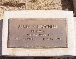 """James F. """"Booger"""" Brownell"""