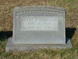 Betty Jane <I>Broughton</I> Johnson