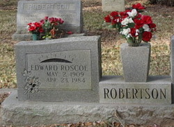 Edward Roscoe Robertson