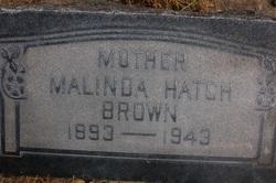 Malinda <I>Hatch</I> Brown