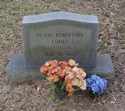 Ouida <I>Robertson</I> Cooke