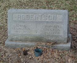 "Jhanvave ""Jennie"" <I>Fendlason</I> Robertson"