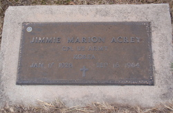 Corp Jimmie Marion Acrey