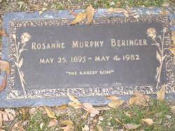 Rosanne <I>Murphy</I> Beringer