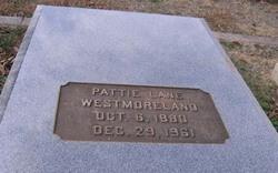 Pattie Lane Westmoreland