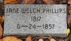 Jane <I>Welch</I> Phillips