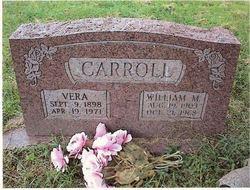 Vera <I>Sizemore</I> Carroll