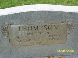 Fay J. <I>Johnson</I> Thompson