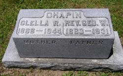 Clella R <I>Babcock</I> Chapin