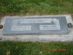 Mary Jane <I>Hunt</I> Sanford