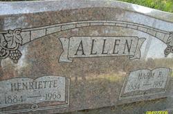 Henriette <I>Bohn</I> Allen