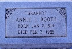 """Annie L """"Granny"""" Booth"""