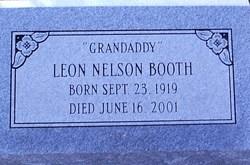 "Leon Nelson ""Grandaddy"" Booth"