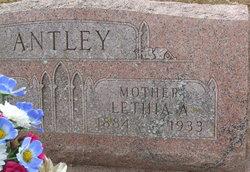 Lethia Ann <I>Reynolds</I> Antley