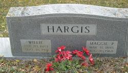 Maggie <I>Perry</I> Hargis