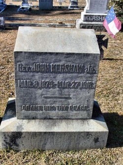 Rev John Kershaw, Jr