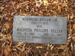 """Mordecai """"Dick"""" Fuller, Jr"""