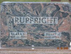 Henry J Ruppright