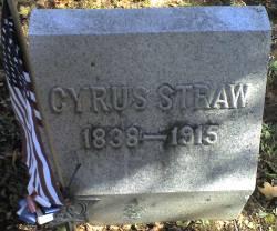 Cyrus W Straw