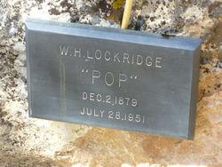 "William Henry ""Pop"" Lockridge"