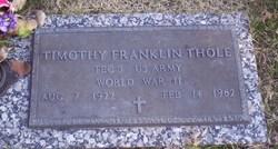 Timothy Franklin Thole
