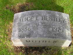 Alice Laura <I>Bowden</I> Bentley