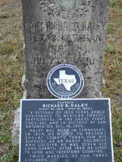 Capt Richard B Haley