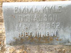 Emma <I>Kyle</I> Donalson