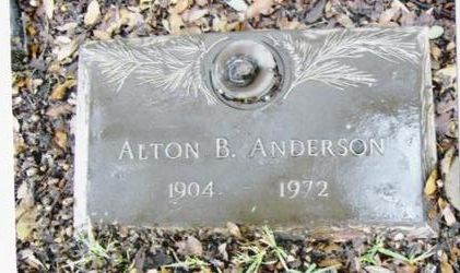 """Alton B """"Mike"""" Anderson"""
