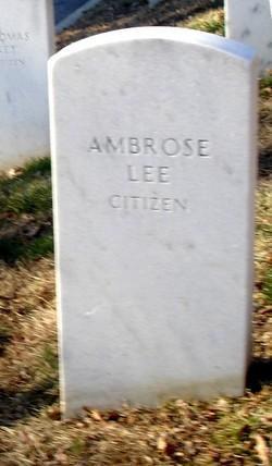 Ambrose Lee