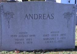 John E Andreas