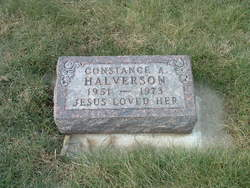 Constance A Halverson