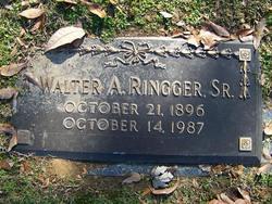 Walter Arnold Ringger Sr 1896 1987 Find A Grave Memorial