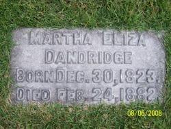 Martha Eliza <I>Pendleton</I> Dandridge