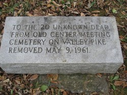 20 Unknown Dead Memorial
