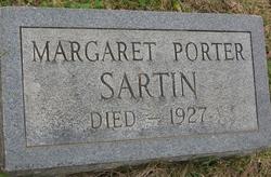 Margaret Worth <I>Porter</I> Sartin