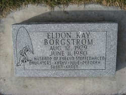 Eldon Kay Borgstrom