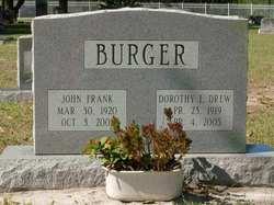 Dorothy L <I>Drew</I> Burger