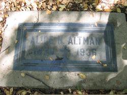 Alice H Altman