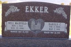 Harold Cornelius Ekker