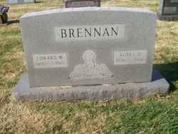 Agnes Evelyn <I>O'Neill</I> Brennan