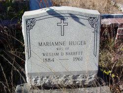 Mariamne <I>Huger</I> Barrett