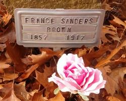 France <I>Sanders</I> Brown