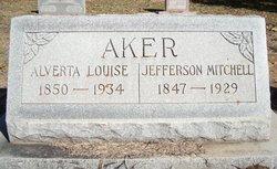 Alverta Louise <I>Painter</I> Aker